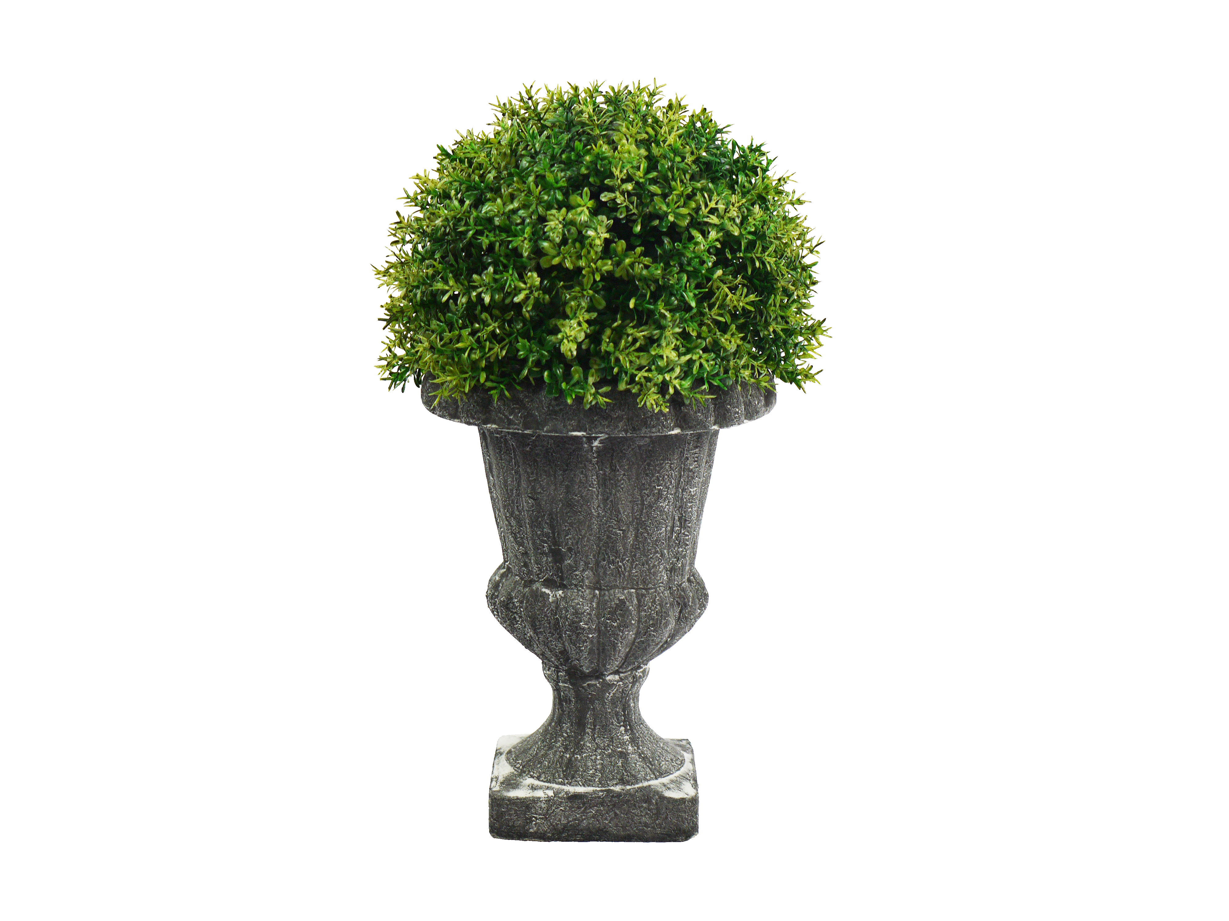 Admired By Nature ABN5P004-NTRL Faux Tyme Topiary with in Urn, Green