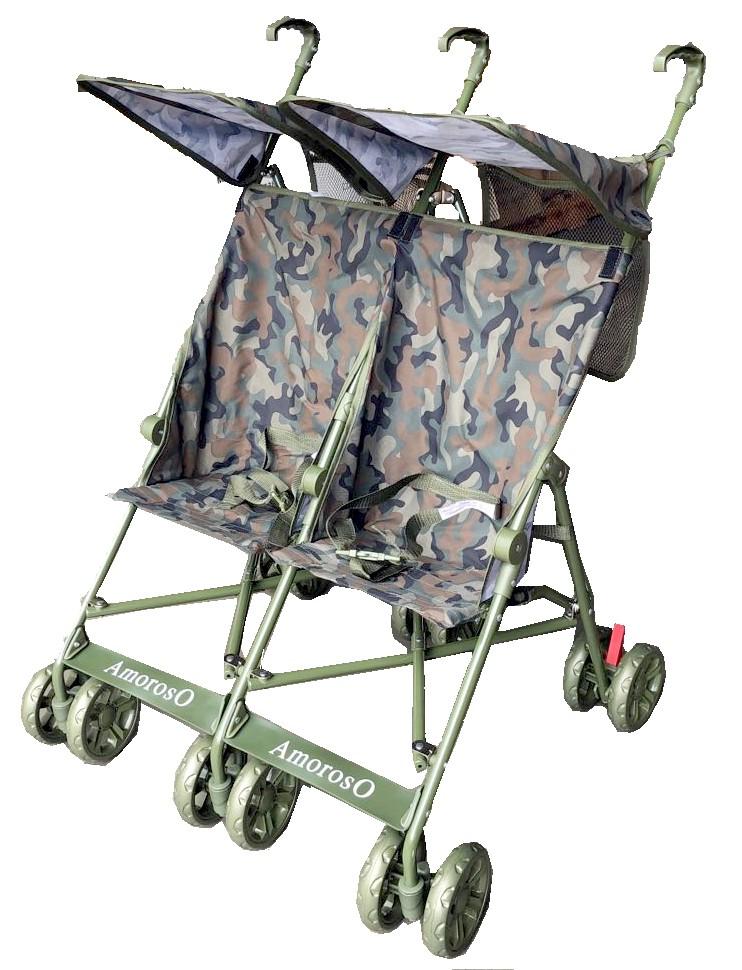 Amoroso 4201 Twin Umbrella Stroller