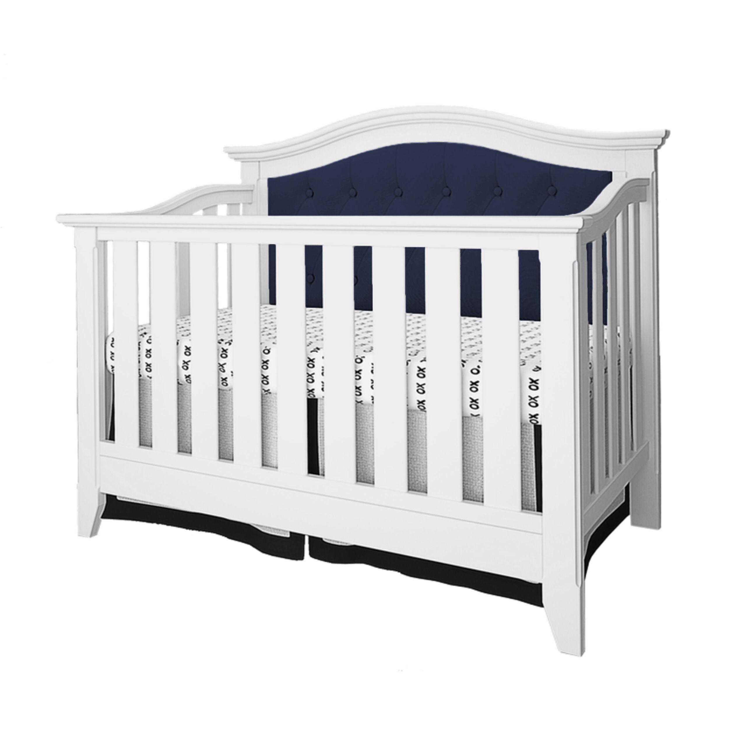 Belle Isle Furniture AAK14-0F01 Classic little ones nursery clean-lined crib, Dark Blue