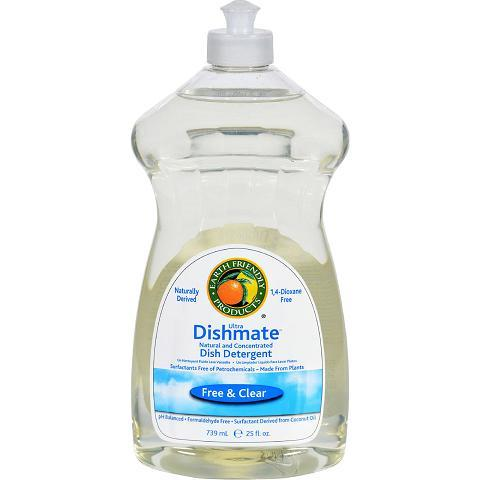 Biokleen ECW1749696 25 oz Dish Liquid Natural Free & Clear - Case of 6