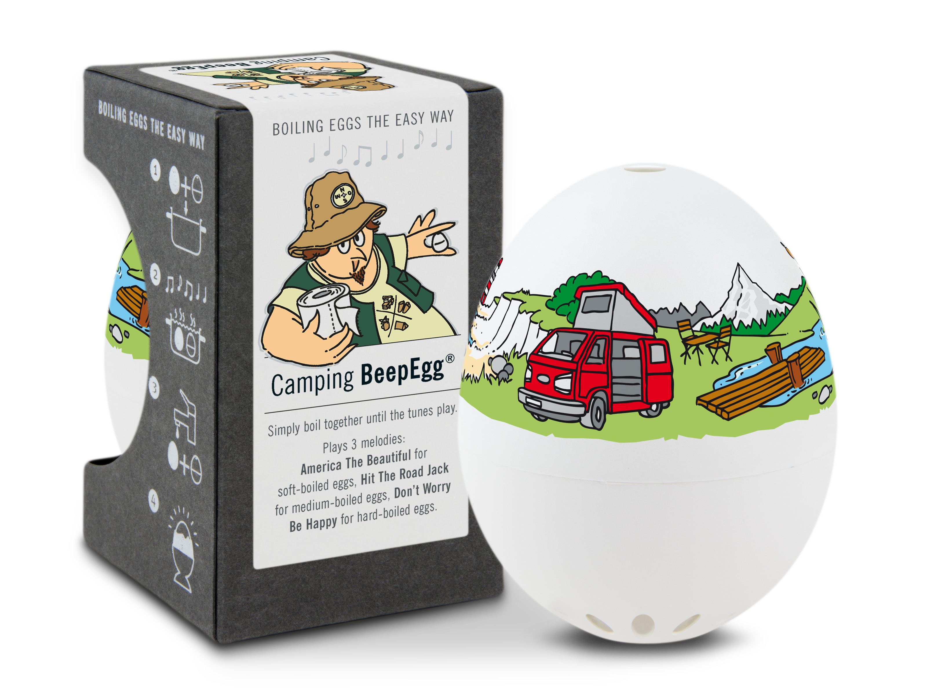 Brainstream A005159 Camping Beep Egg