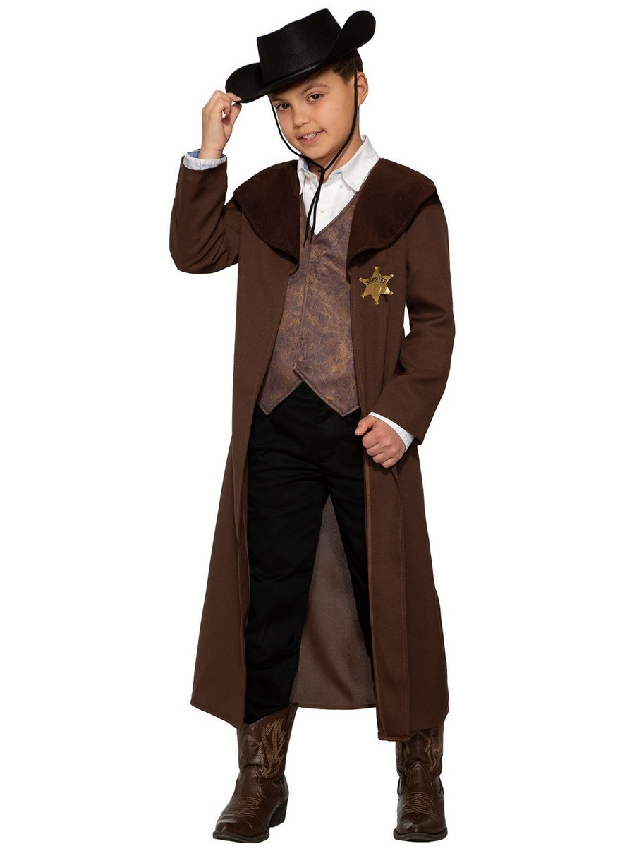 Forum Novelties 414299 Child New Sheriff in Town Costume for Boys, Large