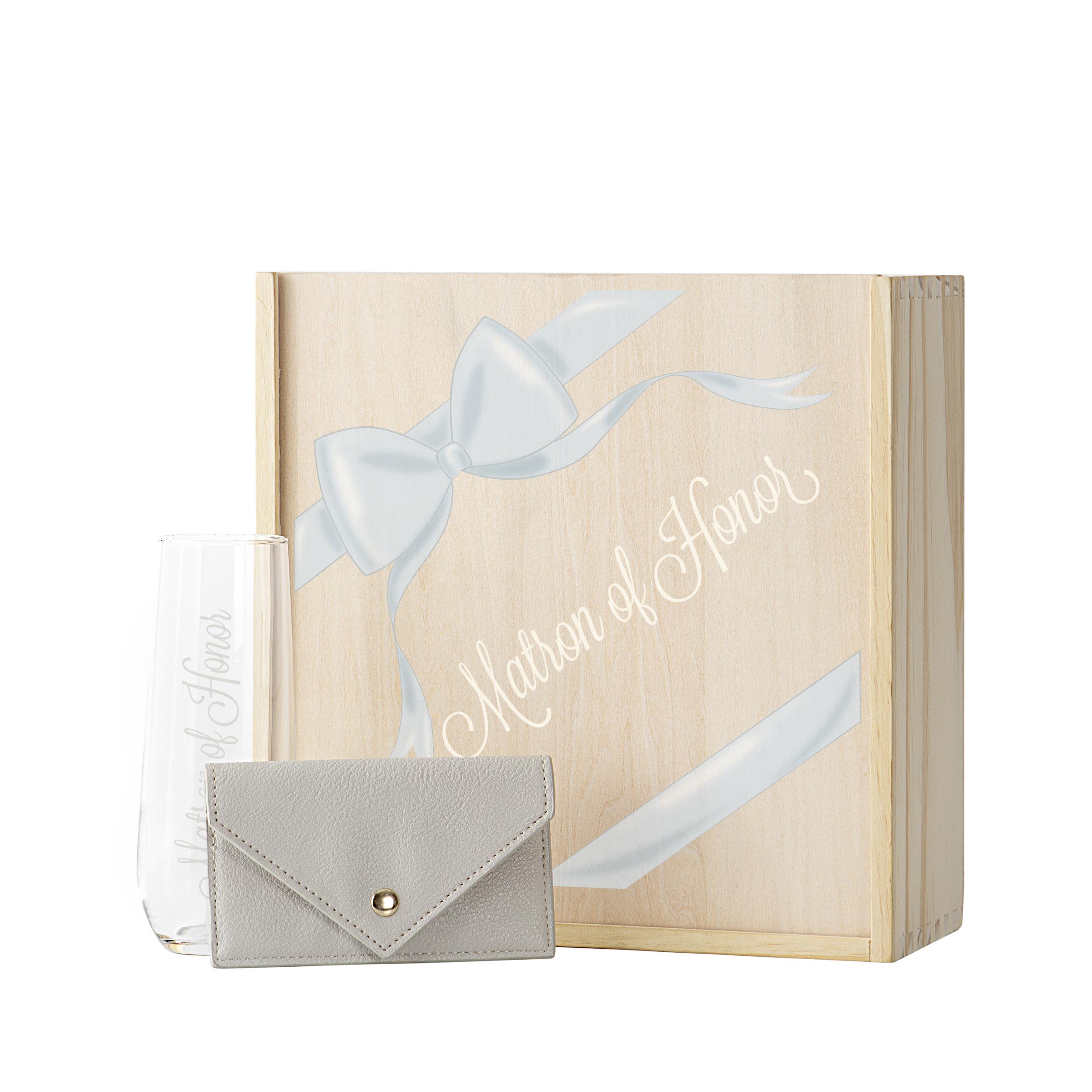 Cathys Concepts MNH-RBS3981 5 oz Ribbon Matron of Honor Gift Box Set