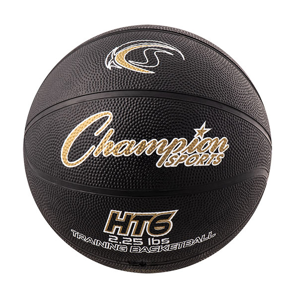 Champion Sports HT6 28.5 in. Weighted Basketball Trainer, Yellow