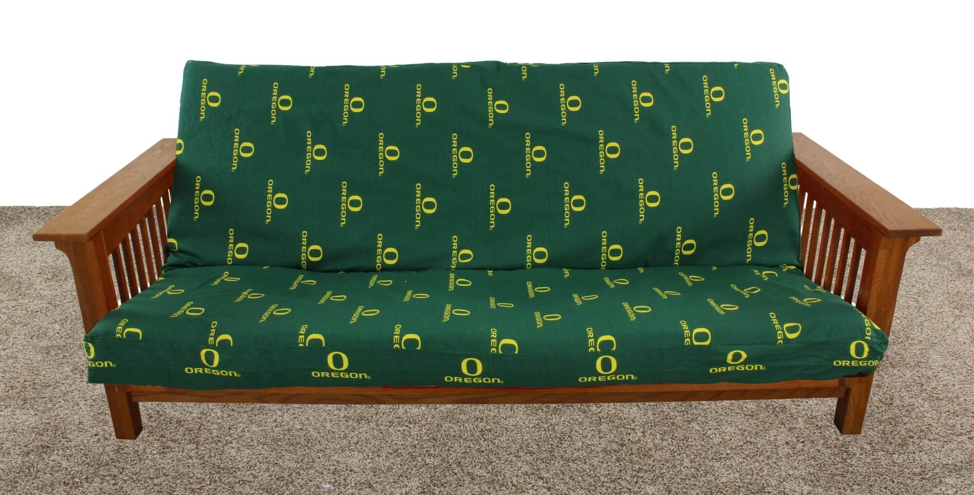 College Covers OREFCL Oregon Ducks Futon Cover Full Size Fits 6 & 8 in. Mats