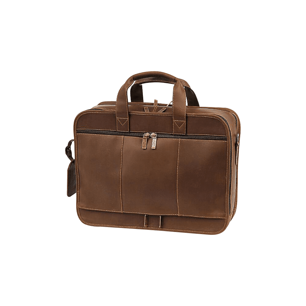 Claire Chase 600004992044 Executive Computer Briefcase, Rustic