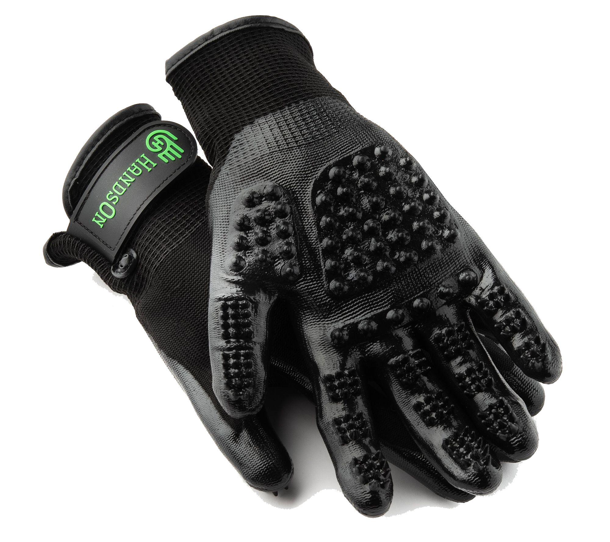 Hands On 1688907 Black Gloves - Extra Large