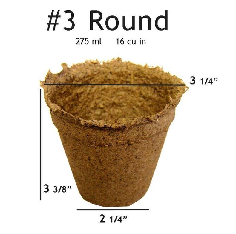 CowPots #3 Round Pot -  90 pots
