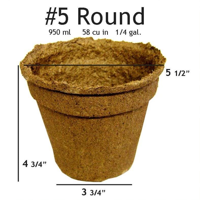 CowPots #5 Round Pot - 20 pots