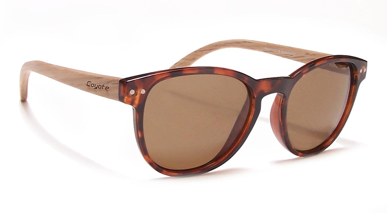 eb5c8e1faa29 Coyote Eyewear 680562012941 Beachwood Polarized Sunglasses  44   Tortoise  44  Natural   Brown