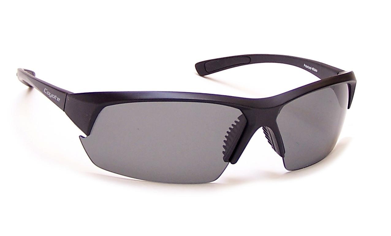74030c368fc Coyote Eyewear 680562013313 Mako Polarized Sunglasses  44  Matte Black -  G15. Coyote Eyewear 680562013313 Mako Polarized Sunglasses ...