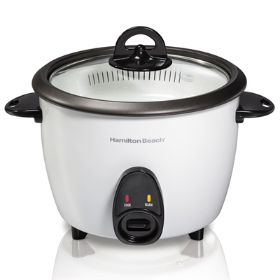 Hamilton Beach 37516 Rice Cooker Food Steamer