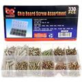 Big Roc Tools CBS330 Chip Board Screw Assortment 330Pc
