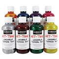 Art Supplies 223920 8 Oz. Washable Glitter Paint - Red