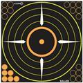 Allen 15222 12 in. Bullseye Target - 5 Pack