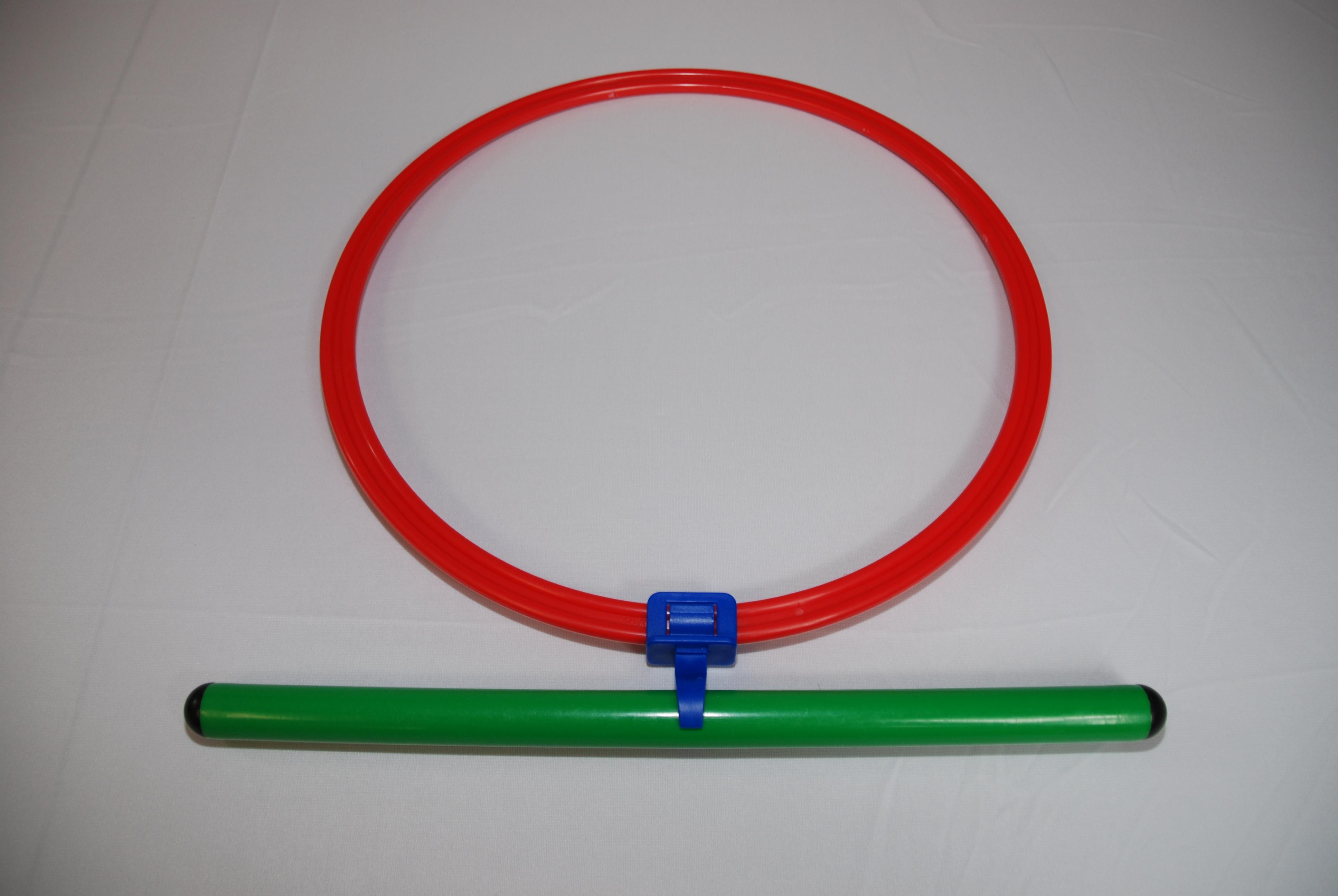 Everrich EVB-0129 Adventure Course Component Hoop & Pole Connector, Set of 12
