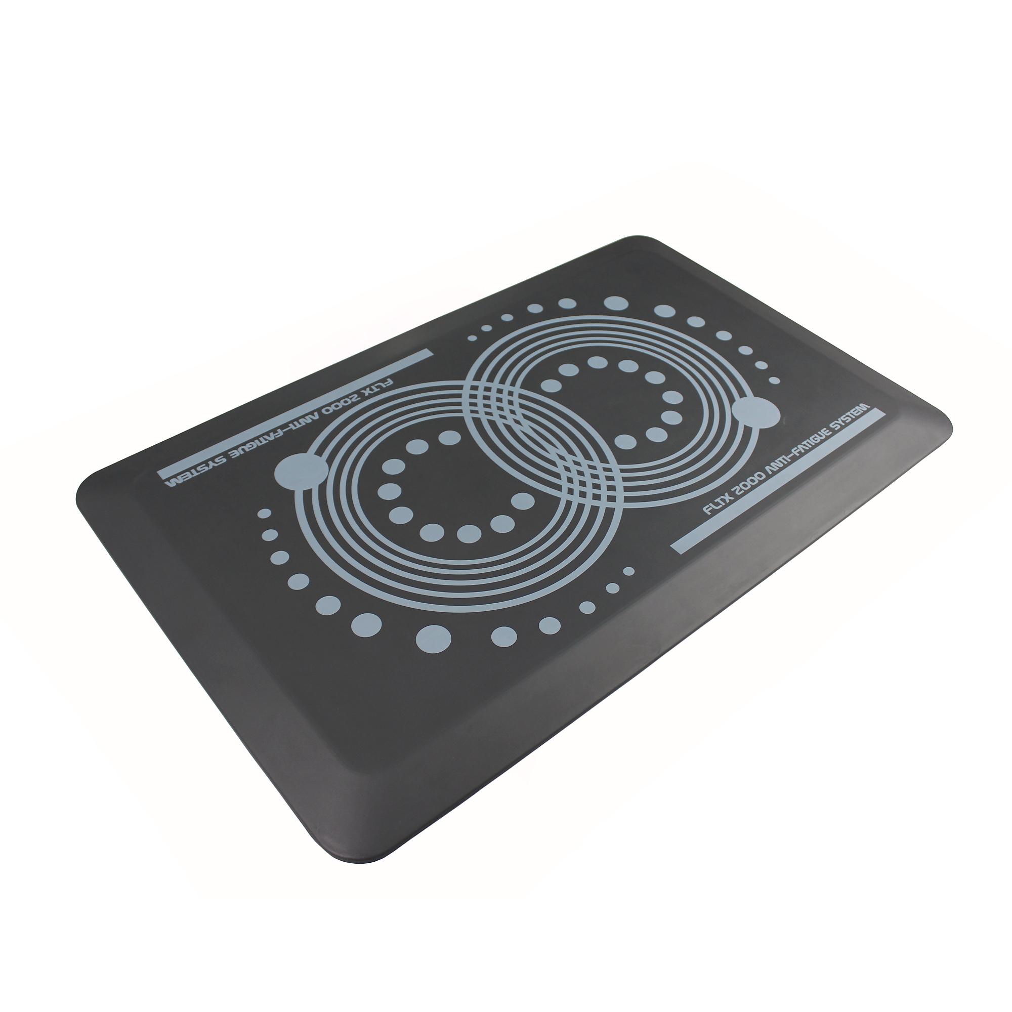 FloortexUSA FCA22032GY 20 x 32 in. AFS-TEX System 2000 Anti-Fatigue Mat, Slate Gray