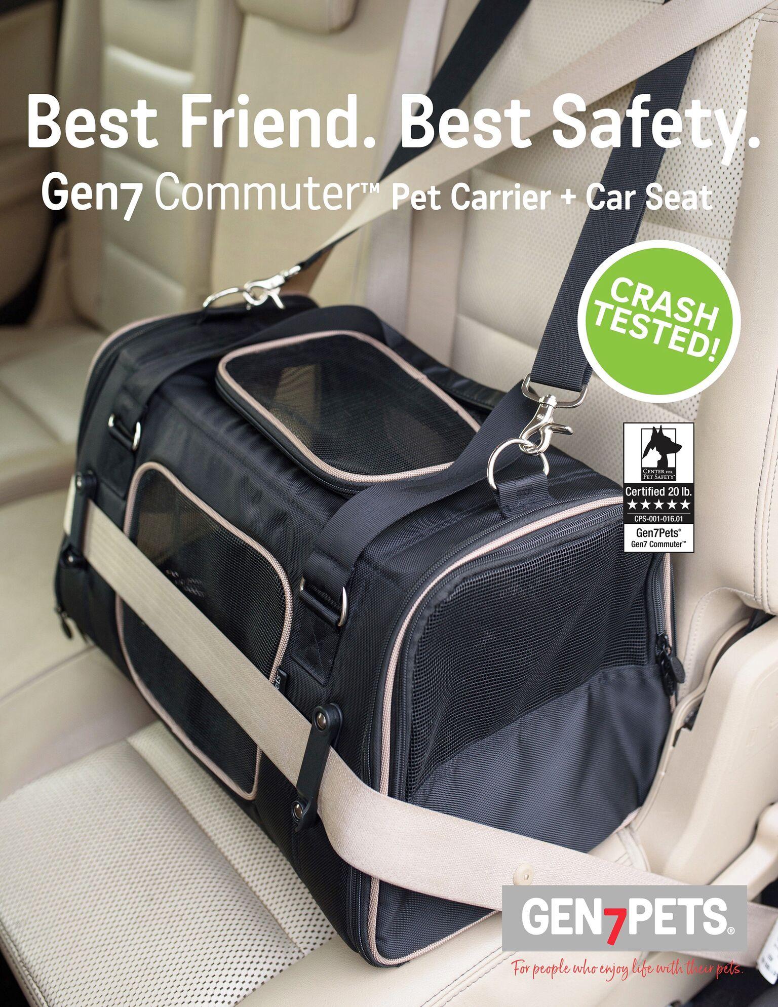 Gen7Pets G2519BL Bag Commuter, Black