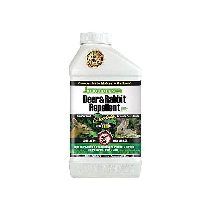 Spectrum Brands Hg-70111 Liquid Fence Deer And Rabbit Repellent  Concentrate  1 Gallon