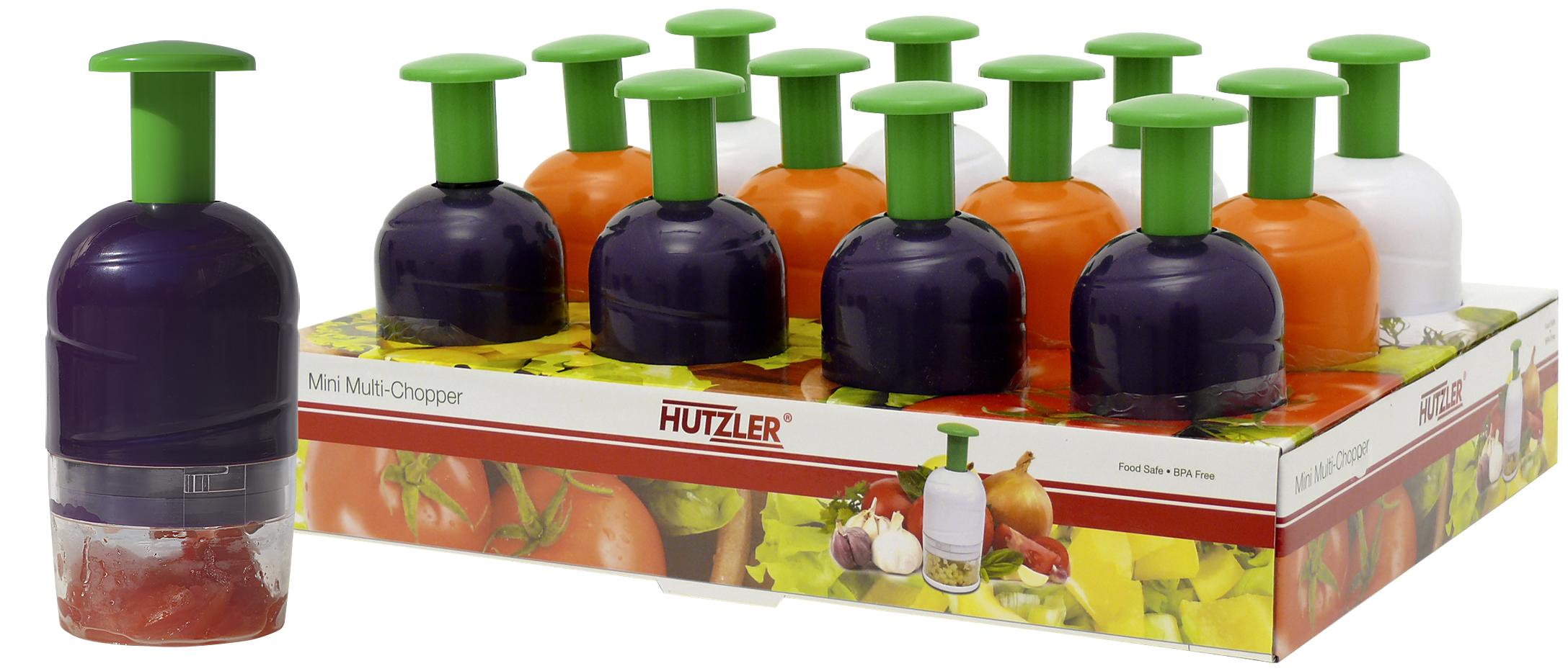 Hutzler 12-570 Mini Multi Chopper Counter Display (12 pack)