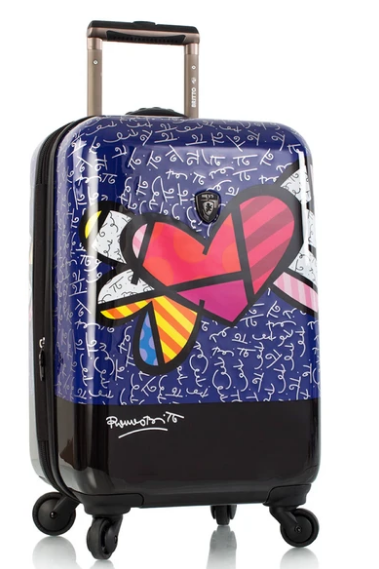 Heys America 16049-6935-21 21 in. Britto Heart with Wings - Multi Color