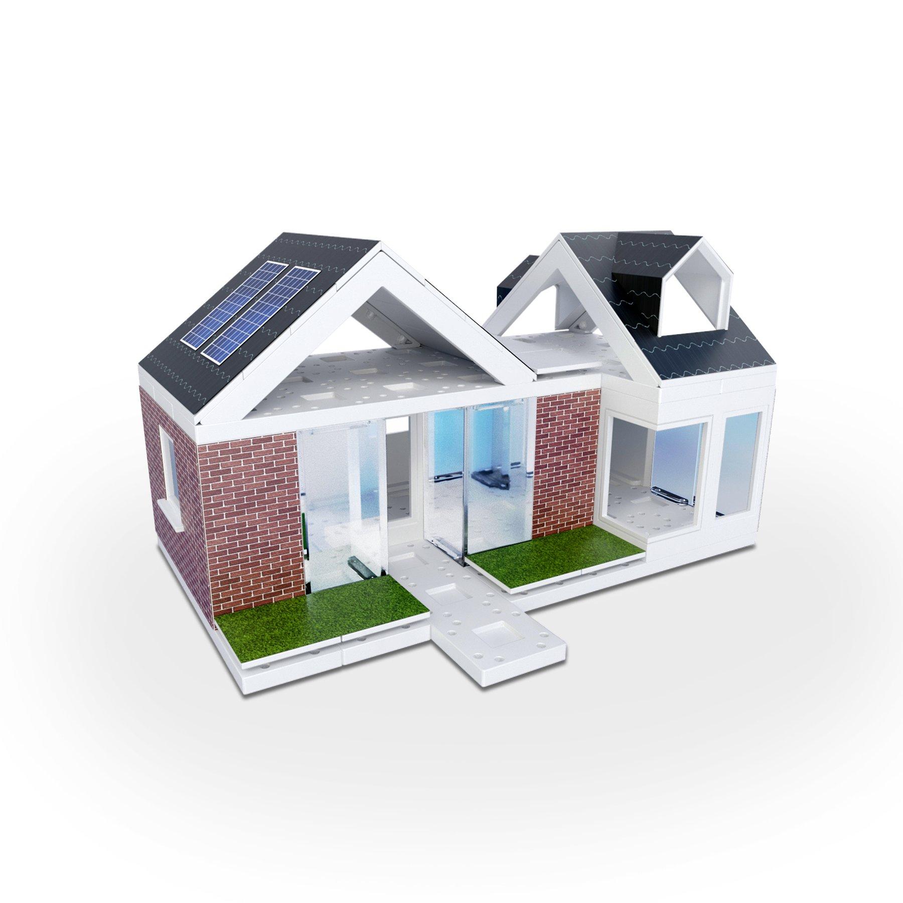 Arckit A10044 Mini Dormer 2.0 - Kids Architectural Model Building Kit - 80 Piece