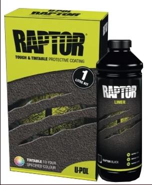 U-POL Products UPL-UP4802 Raptor Tintable Urethane Truck Bed Liner Kit