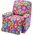 Madison JER-LGRECL-TD Stretch Jersey Large Recliner Slipcover, Tie Dye