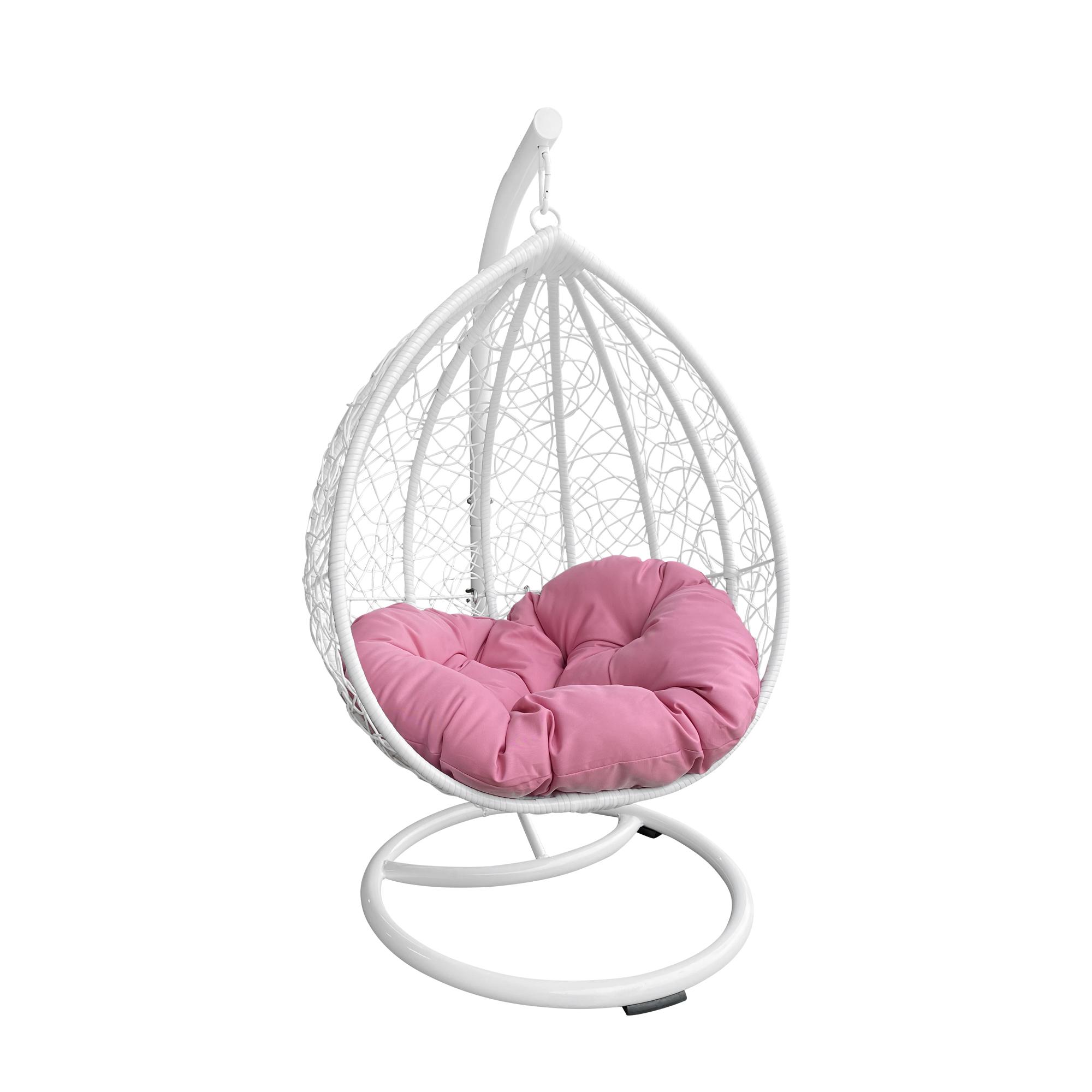 M&M Sales Enterprises MM00147-PNK Children Swoon Pod Hanging Chair Swing, Pink