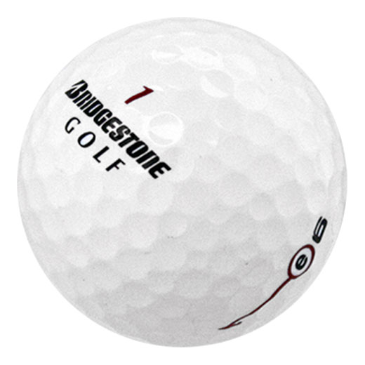 Bridgestone E6 Recycled Golf Balls - Pack of 24