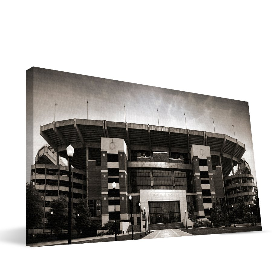Alabama 16x36 Bryant-Denny Stadium Canvas