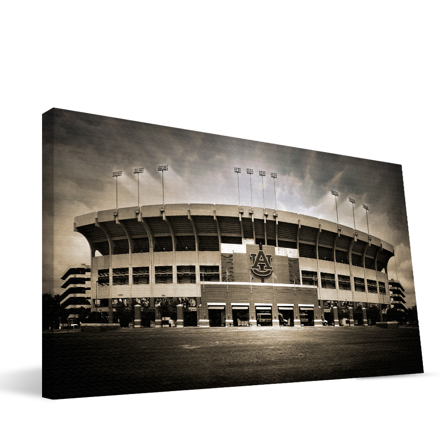 Auburn 16x36 Jordan-Hare Stadium Canvas