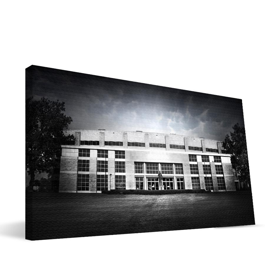 Kansas 16x36 Allen Fieldhouse Canvas