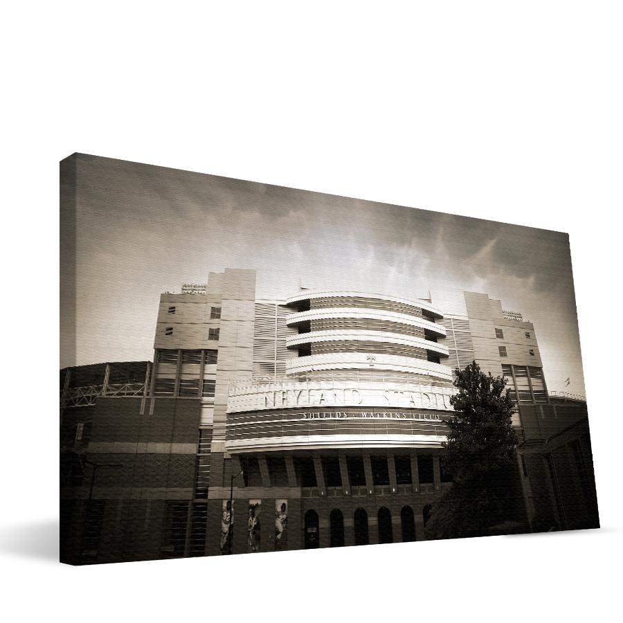 Tennessee 16x36 Neyland Stadium Canvas