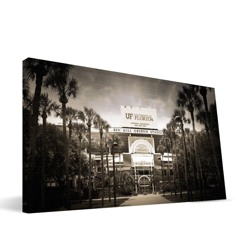 Florida 16x36 Ben Hill Griffin Stadium Canvas