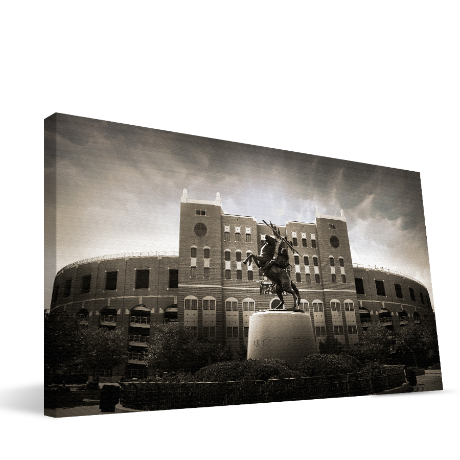 Florida State 16x36 Doak Campbell Stadium Canvas