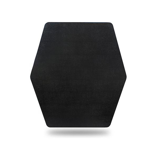 ES Robbins ESR121563 42 x 46 in. Game Zone Chair Mat, Black
