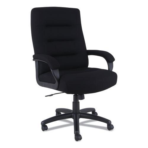 Alera KS4110 Kesson Series High-Back Office Chair with Black Seat & Back