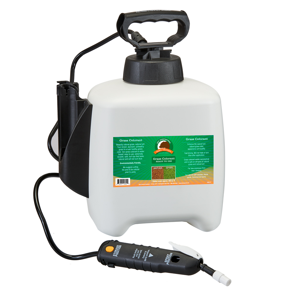 Bare Ground GUGC-1F Just Scentsational Up Grass Colorant Preloaded Gallon Sprayer - Green