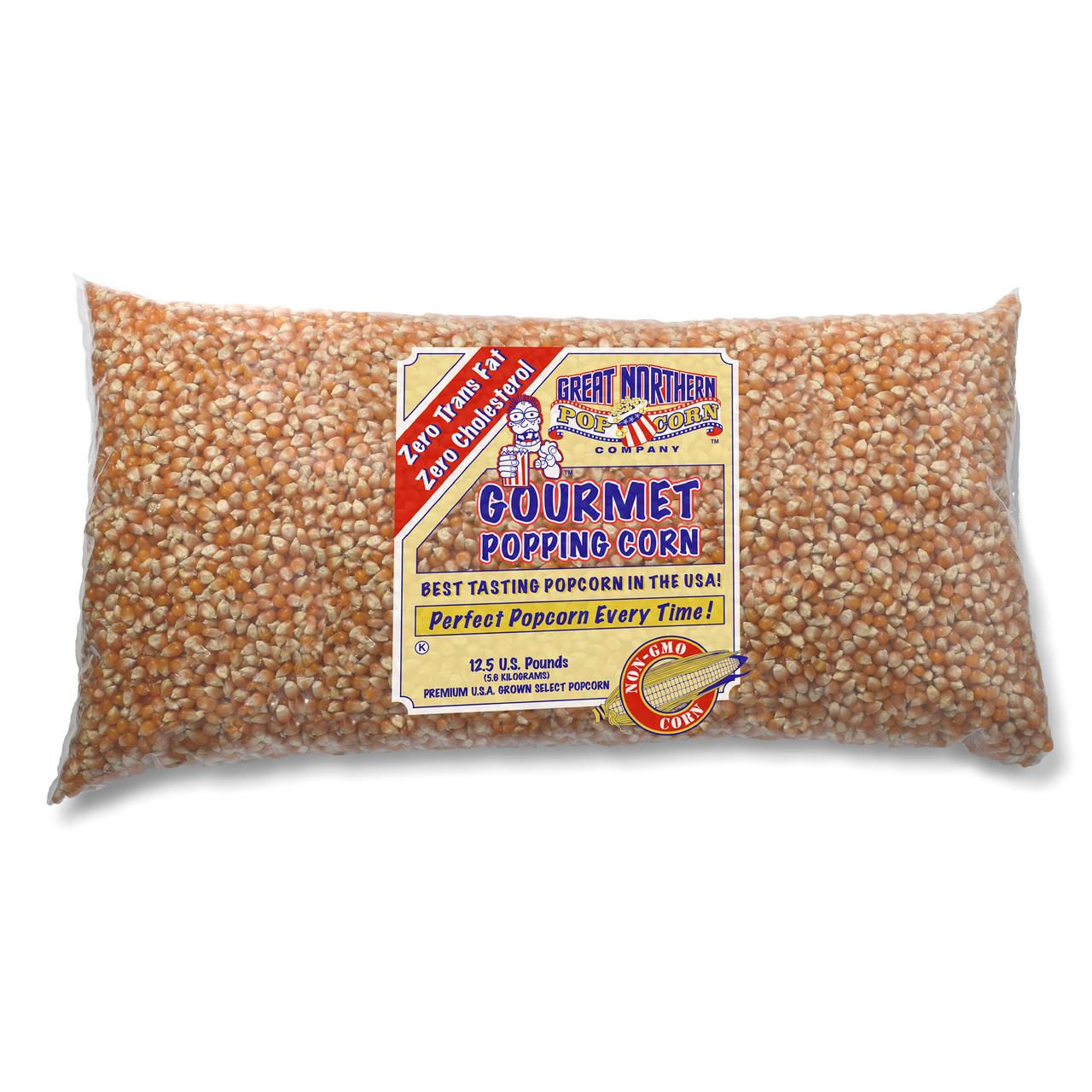 Great Northern Popcorn 83-DT5400 4096 Premium Quality Bulk Original Yellow Gourmet Popcorn - 3-12.5 lbs