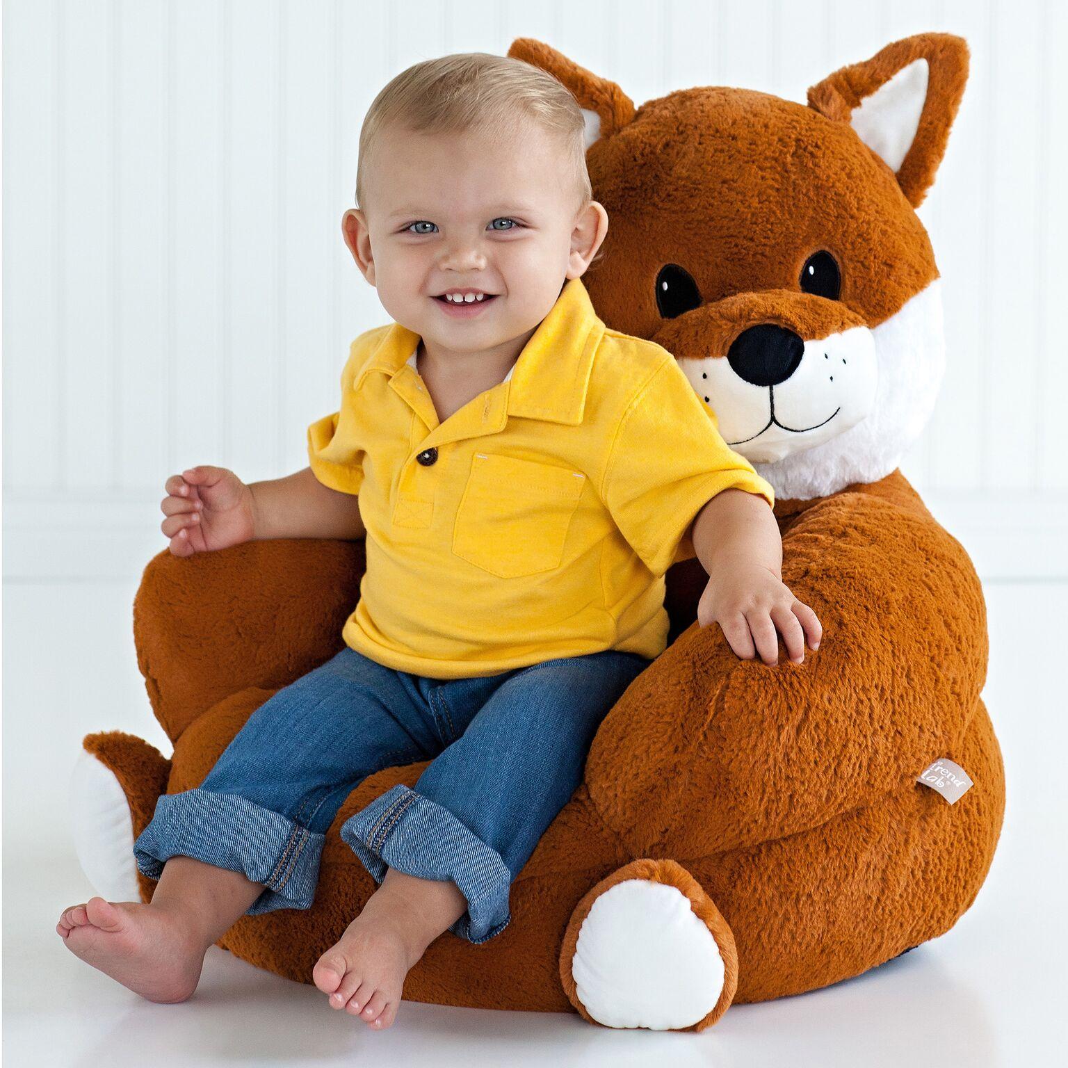 Trend Lab 102653 Children�s Plush Fox Chair