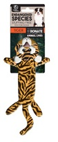 European Home Designs 230371 Bengal Tiger Dog Toy