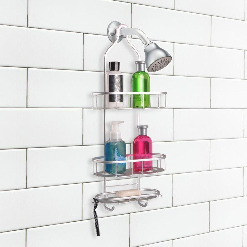 Utopia Alley Aluminum Rustproof Shower Caddy  3 Shelf