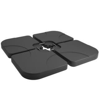 Westin Outdoor 9814101 Universal Standard Cross Base Umbrella Weights, Black - 4 Piece