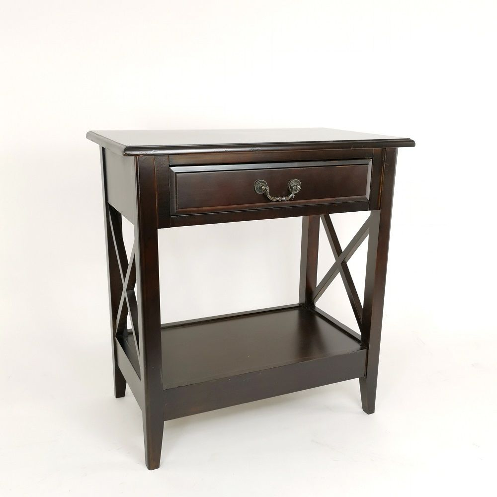 Wayborn 9108X Eiffel Night Stand, Brown