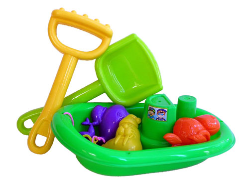 Sunshine Trading BP-91 Boat Sand Toy - 6 Piece Set