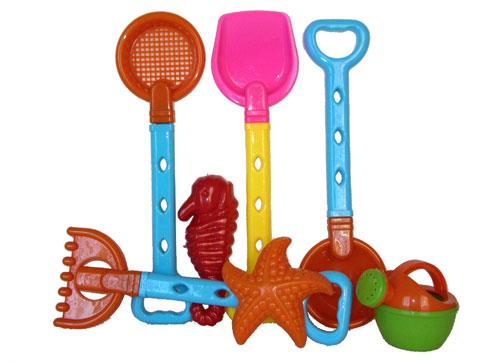 Sunshine Trading BT-46 Tool Sand Toy - 7 Piece Set