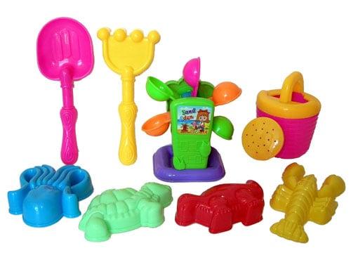 Sunshine Trading KZ-66 Sand Wheel Toy - 8 Piece Set