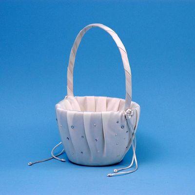 Ivy Lane Design A01080FB/IVO Celebrity Flower Girl Basket - Ivory