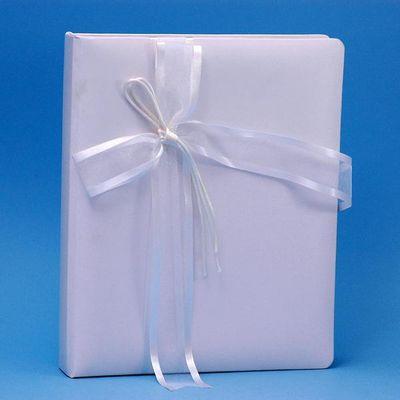 Ivy Lane Design A01115MB/WHT Simplicity Memory Book - White